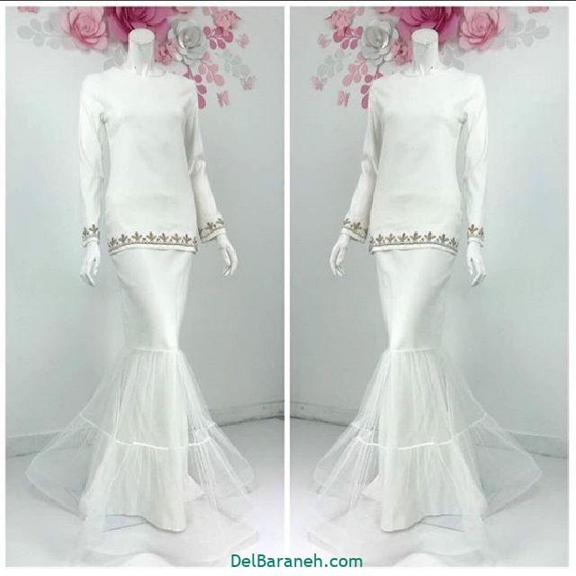 مانتو سفید عروس (۱۰)