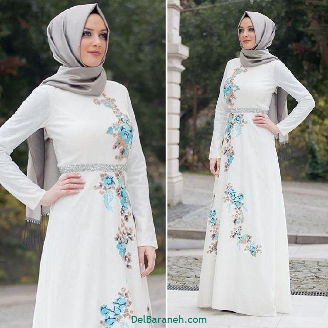 مانتو سفید عروس (۱۳)