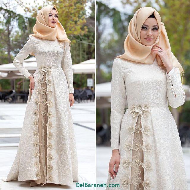 مانتو سفید عروس (۱۴)