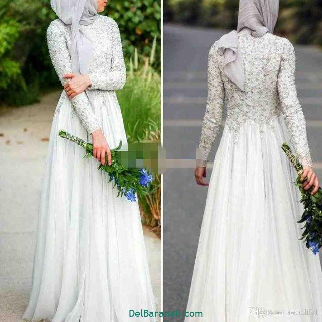 مانتو سفید عروس (۱۶)