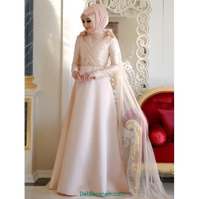 مانتو سفید عروس (۲)