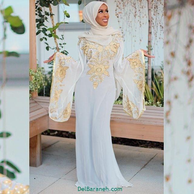 مانتو سفید عروس (۲۰)