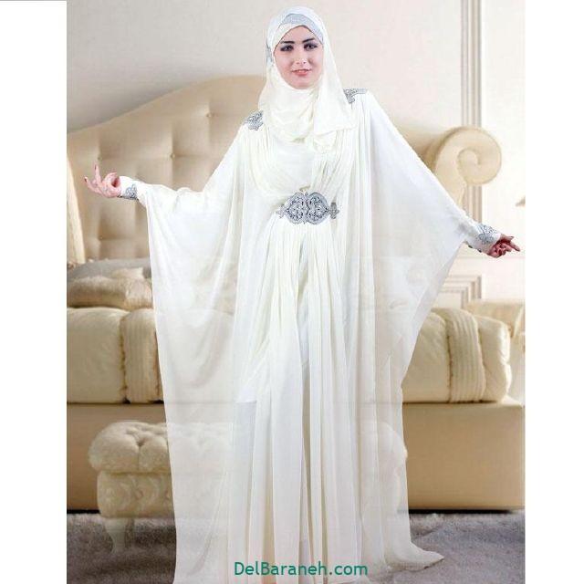 مانتو سفید عروس (۴)