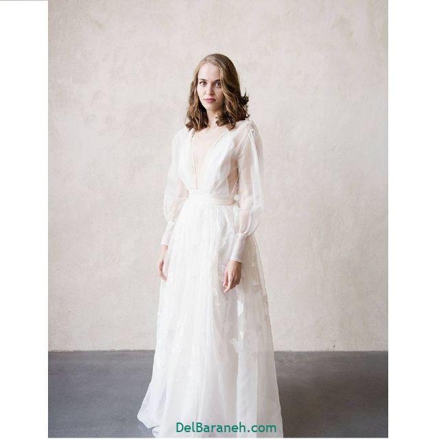 مانتو سفید عروس (۷)