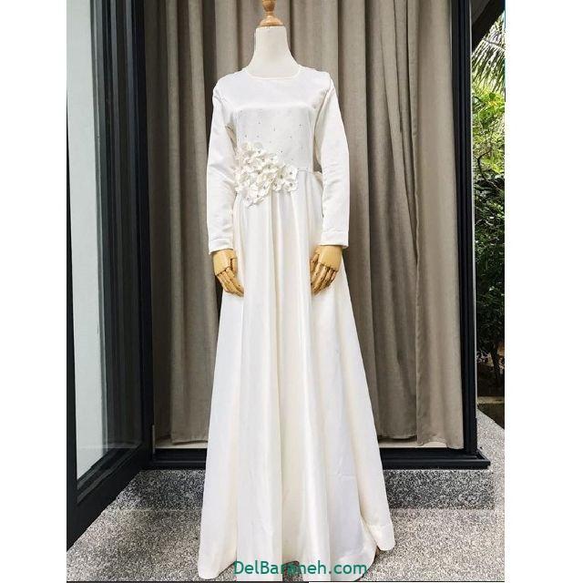 مانتو سفید عروس (۸)