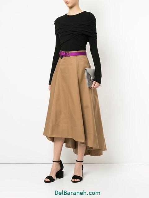 مدل دامن بلند (۳۱)