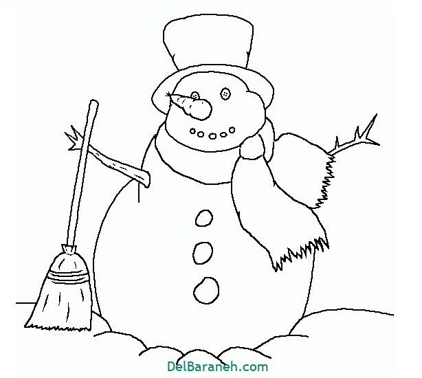 نقاشی برف و زمستان (۱۱)