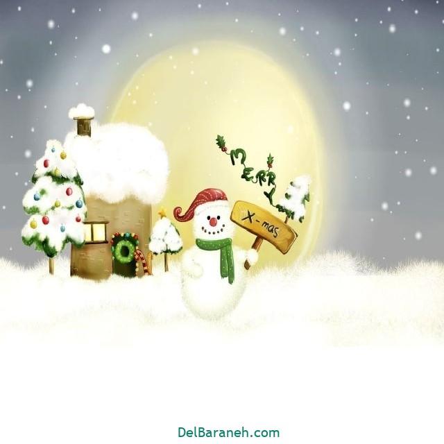 نقاشی برف و زمستان (۱۴)