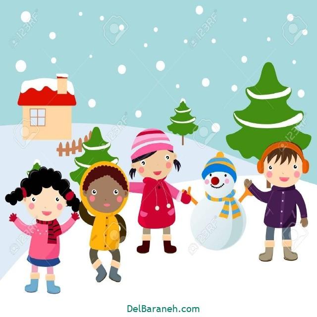 نقاشی برف و زمستان (۲۳)