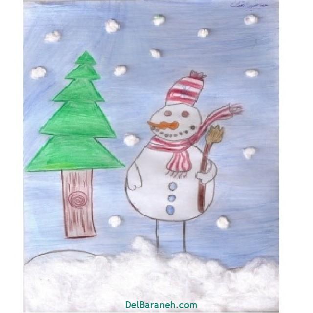 نقاشی برف و زمستان (۲۸)