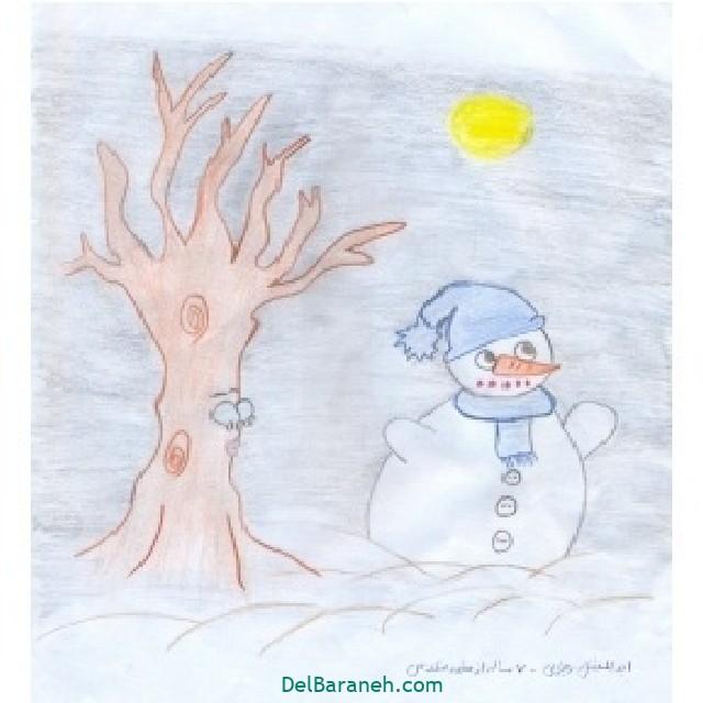 نقاشی برف و زمستان (۲۹)