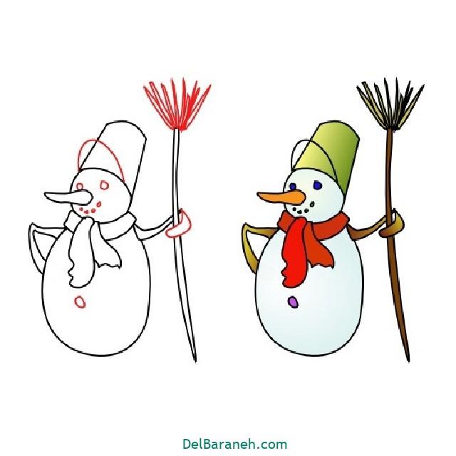 نقاشی برف و زمستان (۷)