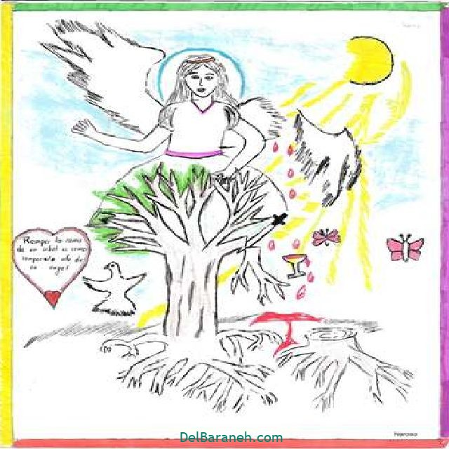نقاشی درخت درختکاری (۱۸)