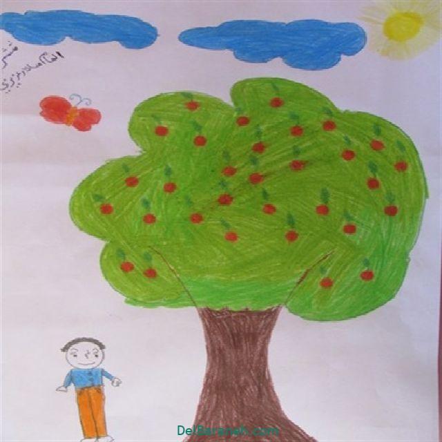 نقاشی درخت درختکاری (۲۵)