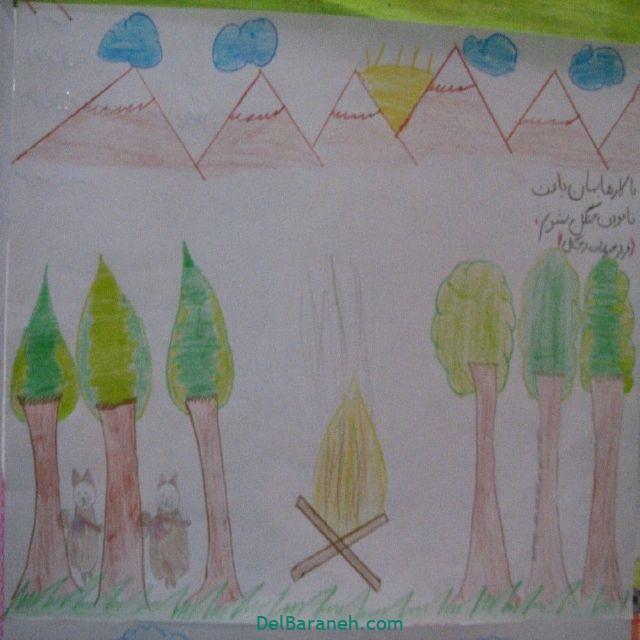 نقاشی درخت درختکاری (۲۷)