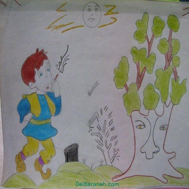 نقاشی درخت درختکاری (۲۸)
