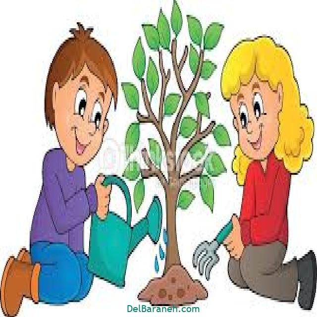 نقاشی درخت درختکاری (۳)