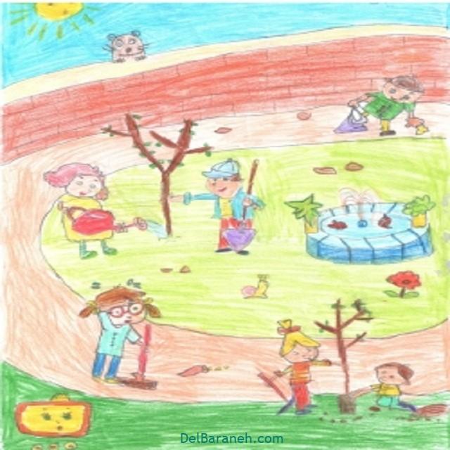 نقاشی درخت درختکاری (۳۰)