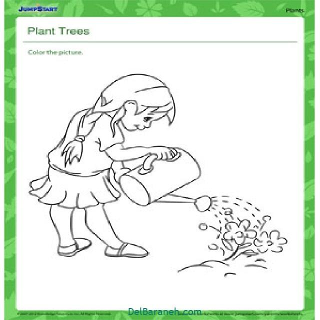 نقاشی درخت درختکاری (۴۵)