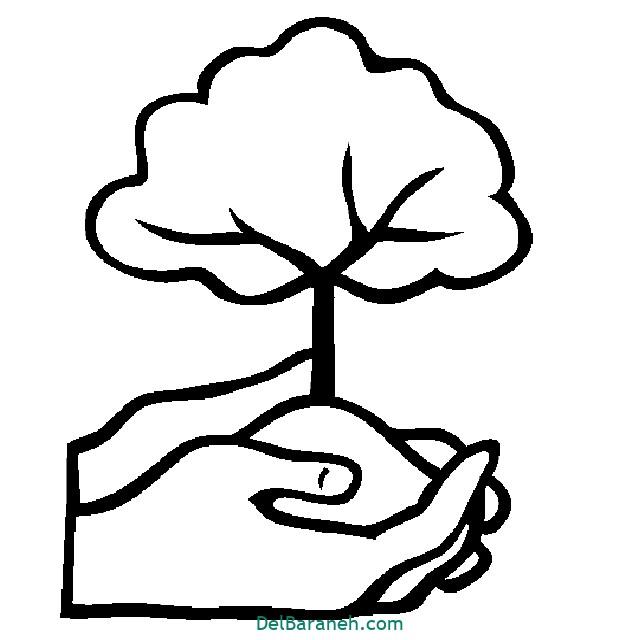 نقاشی درخت درختکاری (۴۷)