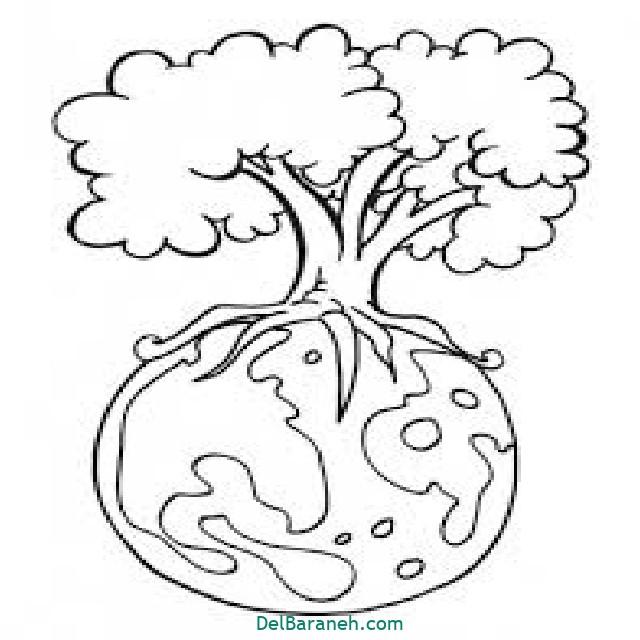 نقاشی درخت درختکاری (۴۸)
