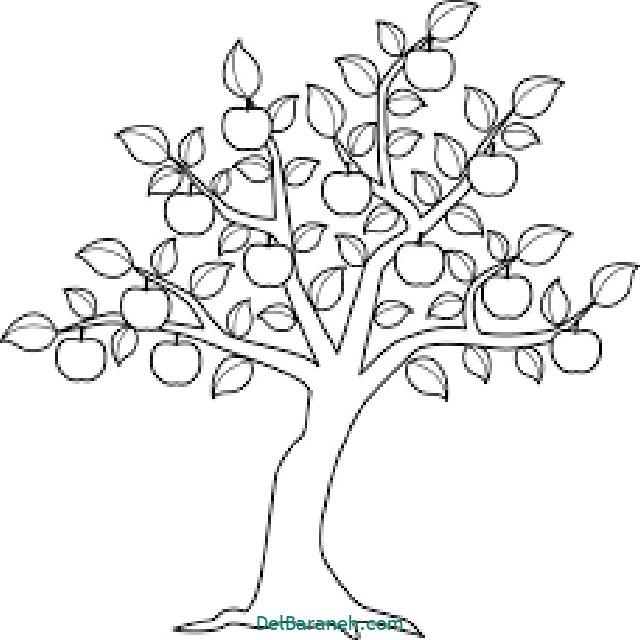 نقاشی درخت درختکاری (۵۳)