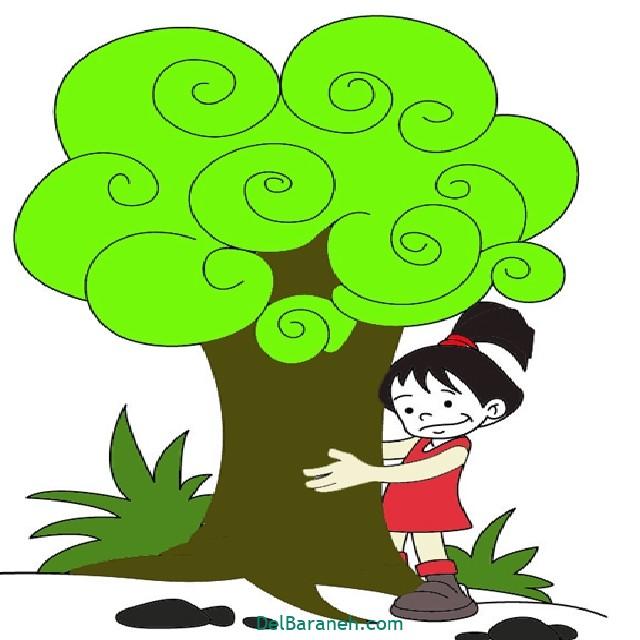 نقاشی درخت درختکاری (۵۵)