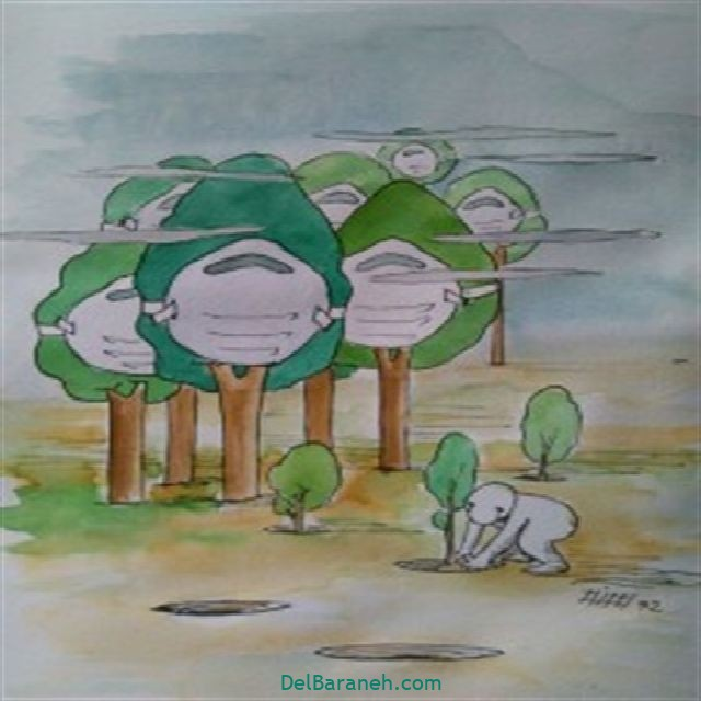 نقاشی درخت درختکاری (۵۷)