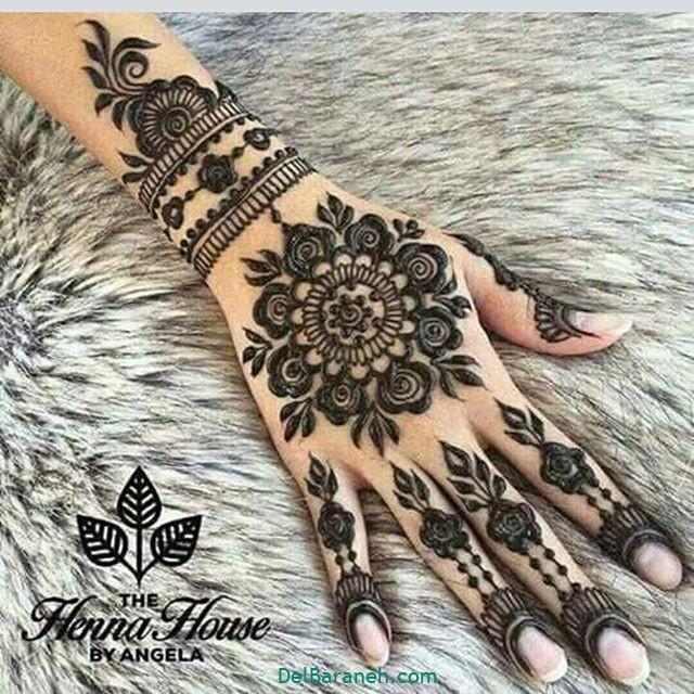 نقش حنا روی دست (۳۳)