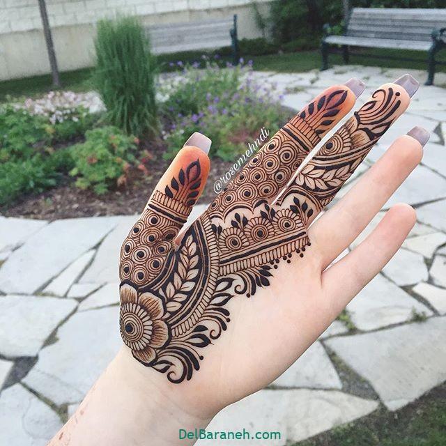 نقش حنا روی دست (۴۰)