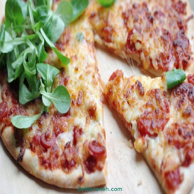 پیتزا خانگی (۵)