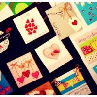 کارت پستال ولنتاین | ۳۰ مدل کارت تبریک دست ساز ولنتاین + آموزش