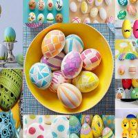 تخم مرغ فانتزی | ۲۵ مدل تزیین تخم مرغ فانتزی و رنگی رنگی