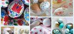 تزیین تخم مرغ هفت سین | ۳۰ مدل تخم مرغ رنگی شیک به روش دکوپاژ و ساده