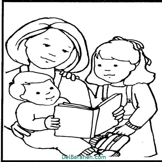 رنگ آمیزی روز مادر (۱۰)
