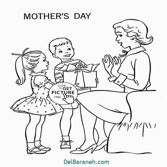 Mothers Day Drawings Kids And Happy Mother Mother39s Day Coloring Page For Kids