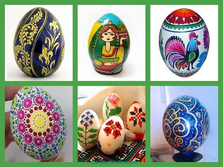 رنگ کردن تخم مرغ (۱)