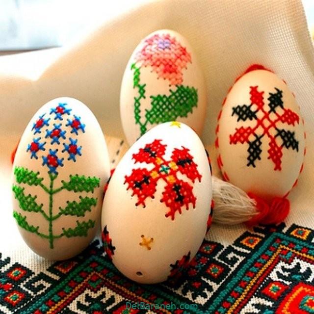 رنگ کردن تخم مرغ (۴۲)