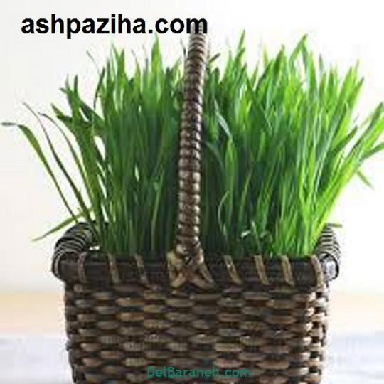 سبزه عید با ذرت (۱)