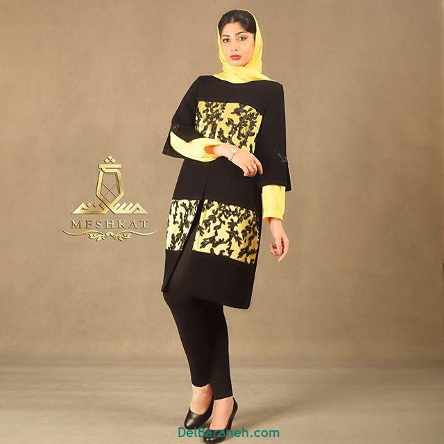 مدل مانتو برای عید (۴)