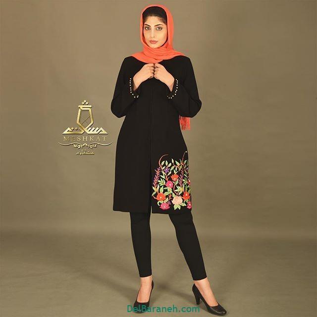 مدل مانتو برای عید (۹)