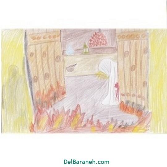 نقاشی حضرت زهرا (۱۹)