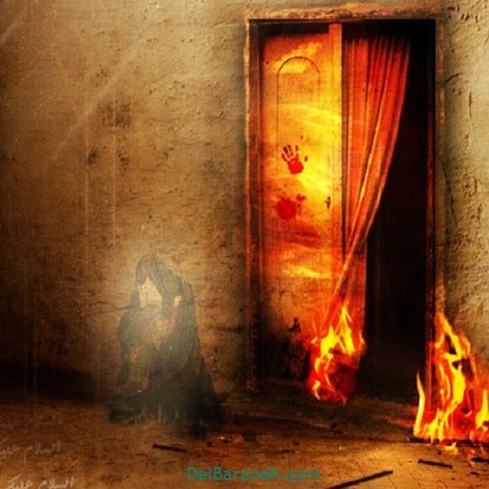 نقاشی حضرت زهرا (۲)