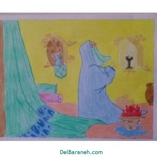 نقاشی حضرت زهرا (۲۶)
