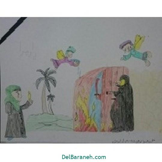 نقاشی حضرت زهرا (۲۷)