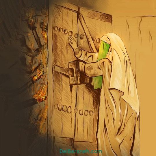 نقاشی-حضرت-زهرا-۴