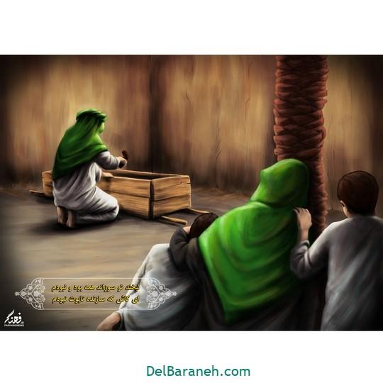 نقاشی حضرت زهرا (۶)