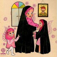 نقاشی روز مادر | ۷۰ نقاشی و رنگ آمیزی درباره روز مادر برای کودکان