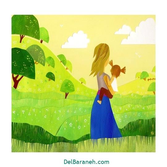 نقاشی روز مادر (۱۰)