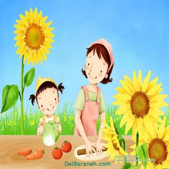نقاشی روز مادر (۱۱)